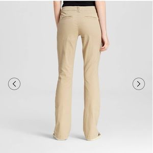 Mossimo Supply Co. Pants - Mossimo Mid-Rise Bootcut Khakis